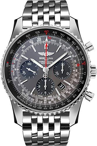 Breitling Navitimer 01 - Reloj para hombre (acero inoxidable, 46 mm)