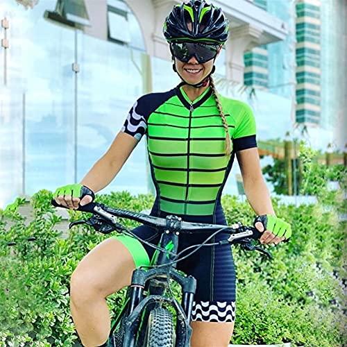 Jersey à vélo de vélo de Triathlon pour femmes Jersey Jersey Jeux de Jeux de Sport Pantalon de sport (Color : 43 2, Size : XXXX-Large)