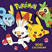 Pokemon 2021 Calendar - Official Square Wall Format Calendar