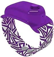 PANGHU 5PCS Pompe per Dispenser di disinfettante per Mani in Silicone per Bambini Adulti Cinturino per Orologio con Cinturino Portatile Moda Regolabile erogatore indossabile Bracciale Liquido 10ml #5