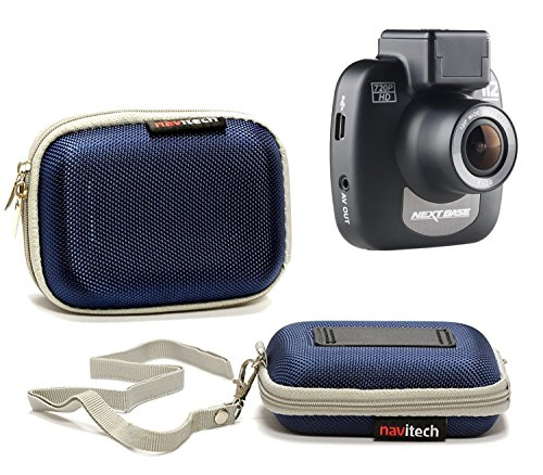 Navitech Blue Water Resistant Dash Cam Case Cover Compatible with The Xuanpad Dash Cam Full HD 1080P