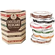 Taza Chocolate Organic Mexicano Disc Stone Ground, Classic Collection Variety Pack, 2.7 Ounce (6 Count)