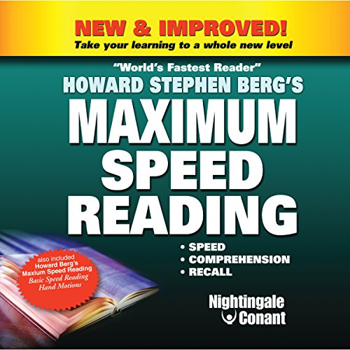 Maximum Speed Reading audiobook cover art