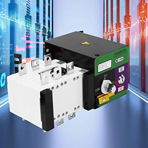 160A Automatic Transfer Switch, 400V Dual Power Automatic Transfer Switch for Power Transmission, Distribution Systems and Automation Systems