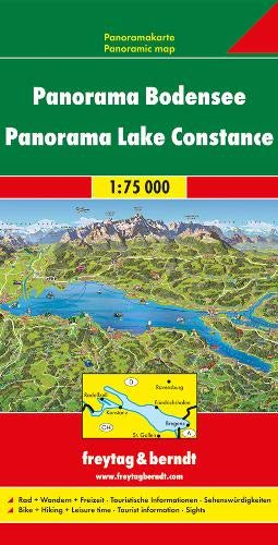 F&B Bodensee Panorama: Panorama kaart 1:75 000