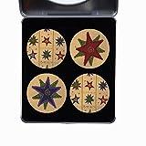 Schneidern Schnittmuster Gewichte. 4Pack Stars Schild Bright Designs Geschenk-Set vom Künstler...