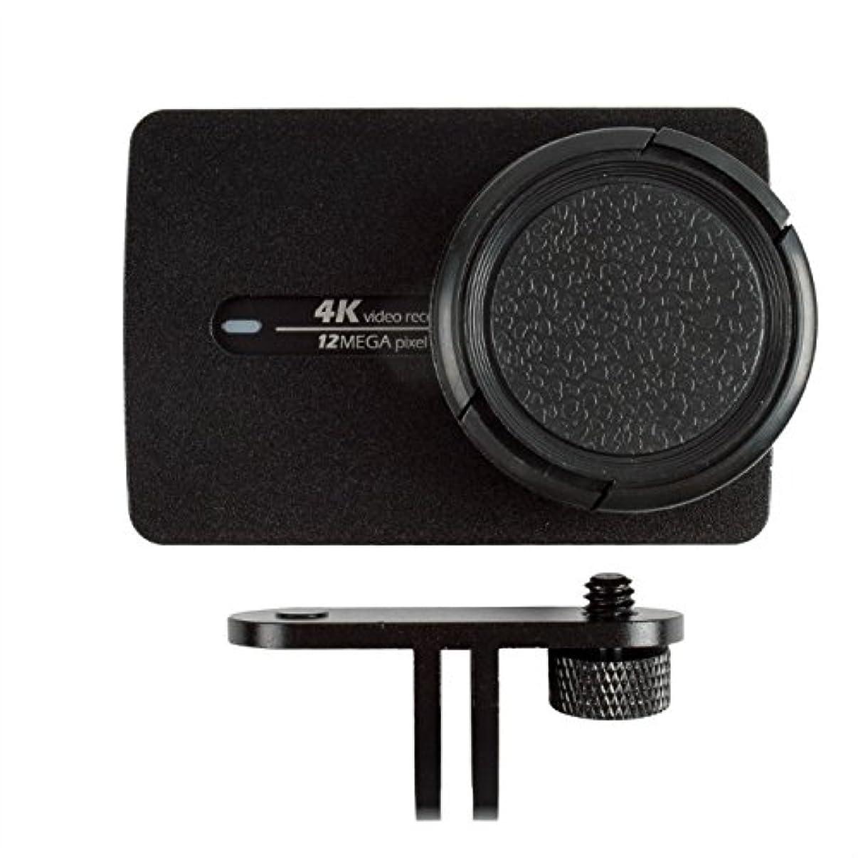ADIKA Metal Frame Protective Case for Xiaomi Yi 4K Action Camera Black