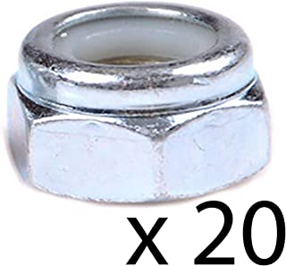 14M7166 Rotary Cutter Pack of 20 Lock Nuts for John Deere 1018 M8LNT