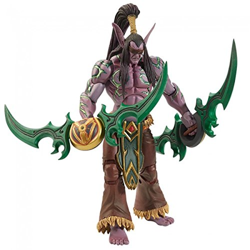 NECA 45402 - Blizzard's Heroes of the Storm - Illidan Stormrage Actionfigur, 18 cm
