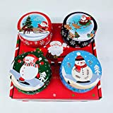 Mazu Homee Paquete de 4 velas perfumadas para mujeres y señoras regalos para mamá, madres y regalos de cumpleaños.