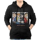 MNB Men's Ace Attorney Dual Destinies Zip-Up Hoodie...