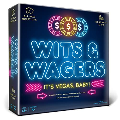 North Star Games Wits & Wagers Board Game | Vegas Edition,...