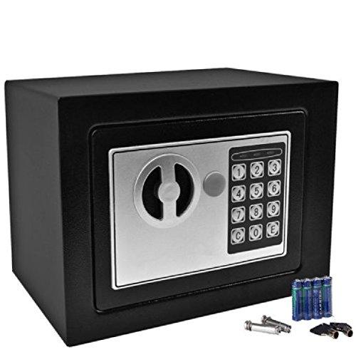 Durable Keypad Lock Home Hotel : Durable Digital Electronic Safe Box Keypad Lock Home Office Hotel Gun Black : Safe Box Office Electronic