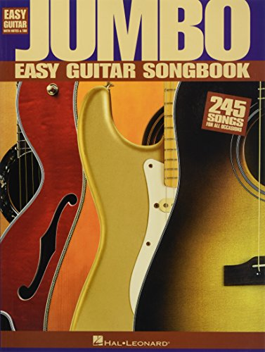 Jumbo Easy Guitar Songbook (Easy Guitar with Notes & Tab)