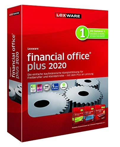 Lexware financial office 2020|plus-Version Minibox (Jahreslizenz)|Einfache kaufmännische Komplett-Lösung für Freiberufler, Selbständige und Kleinunternehmen