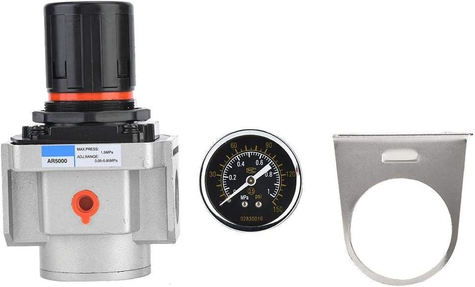 LHQ-HQ Presión Reducir la válvula, AR5000-06 SMC Regulador de presión, SMC la fuente de aire de presión del compresor ajustable Regulador Reducir la válvula, Compatible with instrumentos neumáticos, G