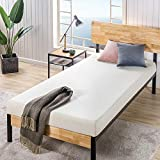 Zinus 6 Inch Ultima Memory Foam Mattress / Pressure Relieving / CertiPUR-US Certified / Bed-in-a-Box, Narrow Twin