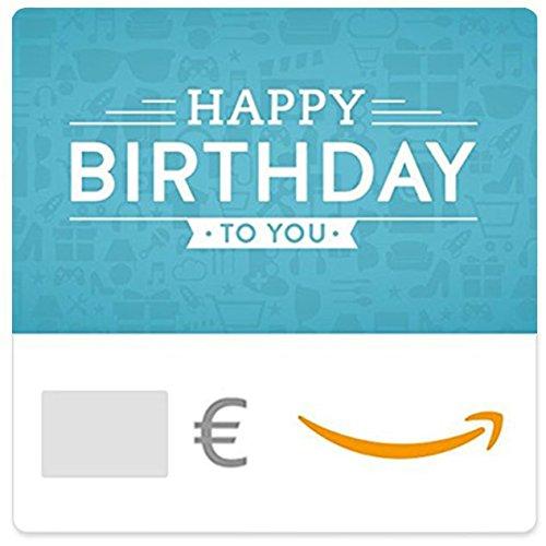 Digitaler Amazon.de Gutschein (Happy Birthday to you (blue))
