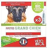 Pipetas orgánicas para perros grandes