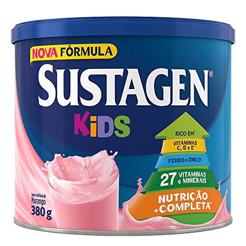 Complemento Alimentar Sustagen Kids Morango Lata 380g