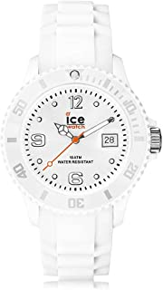 Ice-Watch - ICE forever White - Montre blanche avec bracelet en silicone