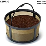 Keurig Reusable Mesh Ground Coffee Filter, Compatible with K-Duo Essentials and K-Duo Brewers only,...