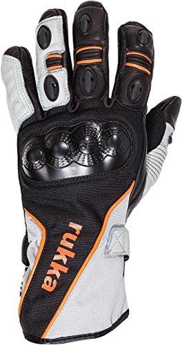 Rukka AirventuR Handschuhe 13 Schwarz/Weiß/Orange