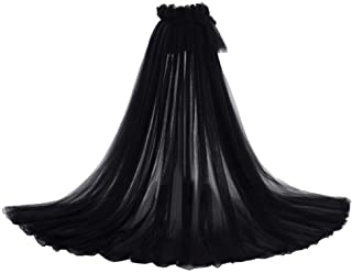 Detachable Train 5-Layers Tulle Skirts Overlay Train Detachable Wedding Train Only Length 63