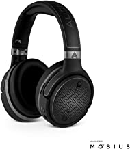 Audeze Mobius Premium 3D Gaming Headset with Surround Sound, Head Tracking and Bluetooth. Over-Ear Gaming Headphones for PCs, Playstation 4 and Others.