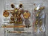CDXZRZYH 2pcs / Set SG Modelo Saint Seiya Dohko de Libra con Forma de Objeto Armadura de Metal de Oro San PVC Figura de acción de Modelo Juguetes DDP Tamaño (Color : Full Set)