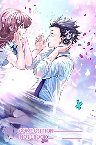 Silent Voice Koe No Katachi Notebook: (110 Pages, Lined, 6 x 9)