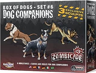 CMON Zombicide: Companion Dogs Board Game (6 Set)