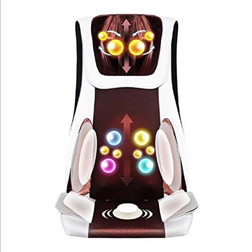 Review Of Electric Massagers Multifunctional Heated Electric Massage Chair Cushion Full Body Luxury ...