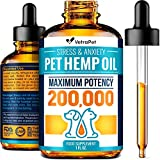 Hemp Oil for Dogs and Cats - Premium Dog Hemp Oil Drops 200,000 Made...