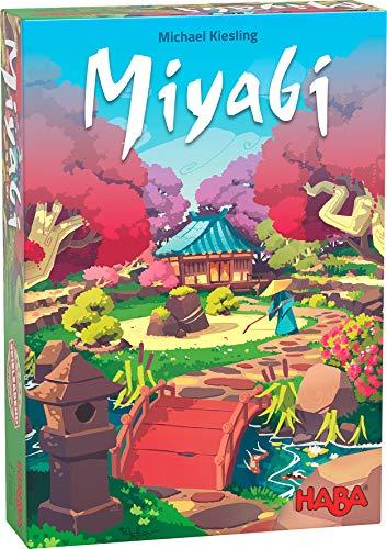 """HABA 305248 - Miyabi, taktisches Legespiel für Spieler ab 8 Jahren, Familienspiel von dem erfolgreichen """"Spiel des Jahres""""-Autor Michael Kiesling"""