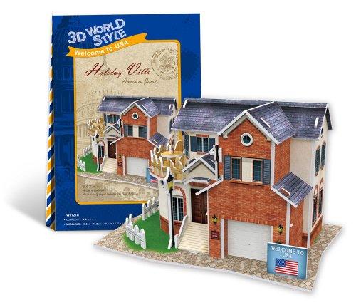 3D puzzle en trois dimensions 3D style World Series Villa W3121h (japon importation)