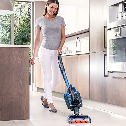 Shark Cordless Upright Vacuum Cleaner [IC160UK], Powered Lift-Away, Single Battery, Blue
