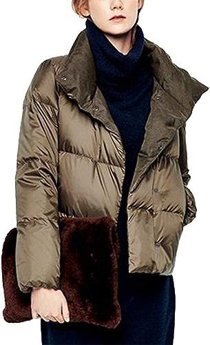 Nouveaux Vêtements d'hiver 2018, Lumière, Bref, Veste, Wohommes Pain Court Manteau.
