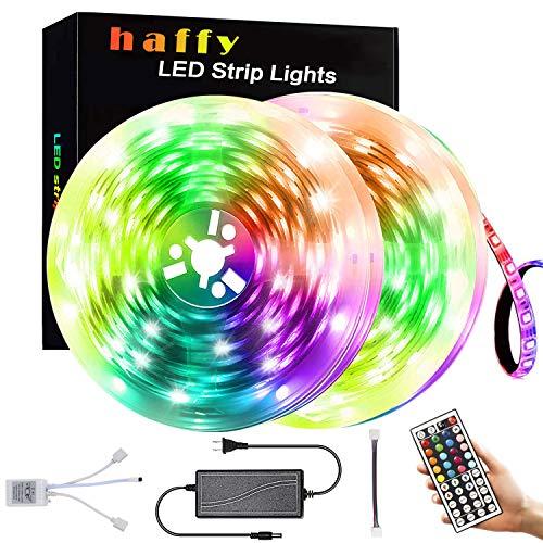 Led Strip Lights,32.8Ft 300 LEDs 5050 RGB Color Changing Lights for Home Kitchen Room Christmas Decoration