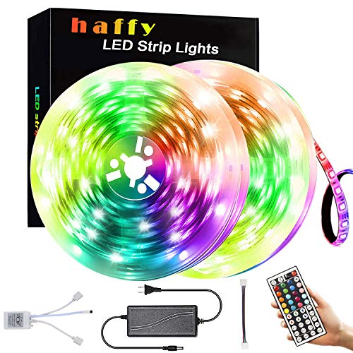 Led Strip Lights,Led Color Changing Rope 32.8ft 300 LEDs 5050 RGB Strip Lights IP65 Waterproof Flexible Changing Multi-Color Lights Strip for Home Kitchen Christmas Decoration