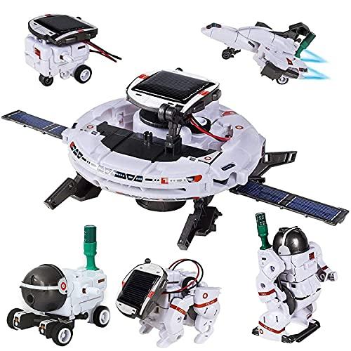 FunYan STEM Toys 6-in-1 Solar Robot Kit...