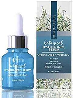 ZONE - 365 Hyaluronic Acid Serum for Face 20%; Moisturizes & Plumps Skin; with Vitamin C, E, Aloe; 1 fl oz