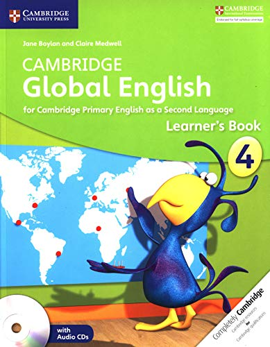 Cambridge Global English Stage 4 Learner's Book with Audio CD (2): for Cambridge Primary English as a Second Language