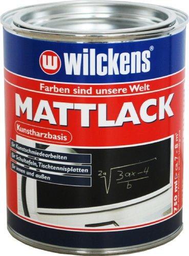 Wilckens Mattlack, schwarz, 750 ml 12590500050