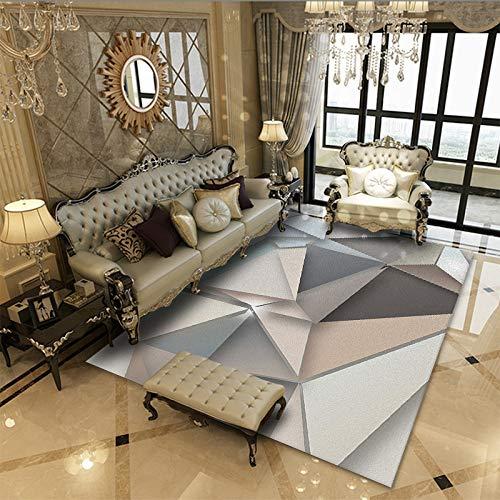 QWEASDZX Alfombras Sala De Estar Impresa Dormitorios Alfombras Antideslizantes Alfombras De Protección para El Hogar Alfombras Decorativas 60x90cm