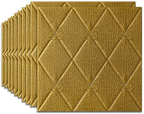 Piedra de Ladrillo Paneles de Pared Autoadhesivos Pegatinas de pared 3D imitación ladrillo dormitorio decoración impermeable auto adhesivo wallpaper para sala de estar cocina TV telón de fondo decorac