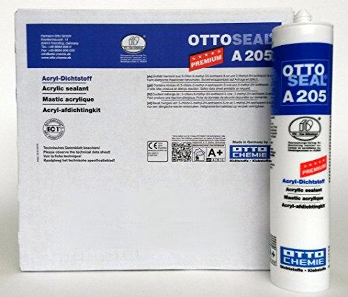 OTTOSEAL A205 weiß 20 STK. a 310 ml Premium Acryl Dichtstoff Acrylat
