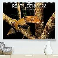 REPTILIEN (Premium, hochwertiger DIN A2 Wandkalender 2022, Kunstdruck in Hochglanz): Reptilien aus aller Welt (Monatskalender, 14 Seiten )