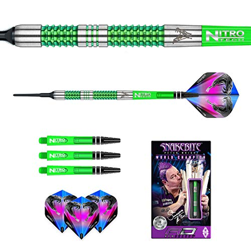 Red Dragon Peter Wright Snakebite Mamba Softdarts - 7