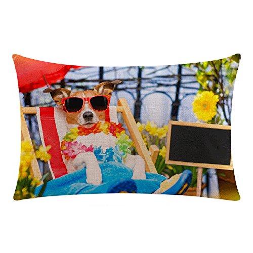 Kissenbezüge Fghyh Weihnachten Baumwolle Leinen Sofa Car Home Taille Kissenbezug Dekokissen Fall 30cm*50cm(A31, Einheitsgröße)
